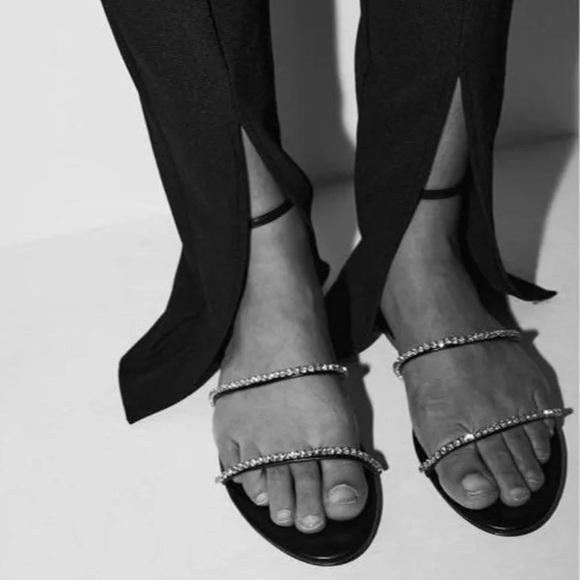 Zara Embellished Sandals